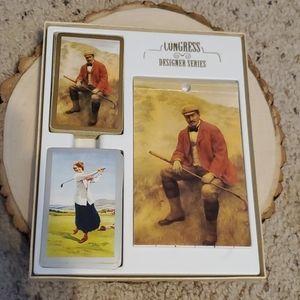 Congress Designer Series Golf Design Playing Cards